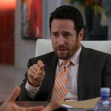 Attorney Jim Lefkowitz (Rob Morrow) in Entourage
