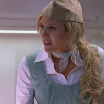 Calm Flight Attendant (Nicky Whelan) in Entourage