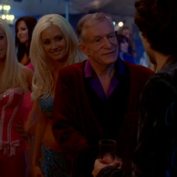 Hugh Hefner in Entourage