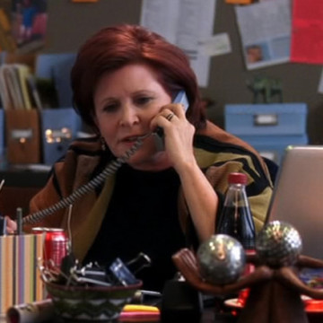 Anna Fowler (Carrie Fisher) in Entourage