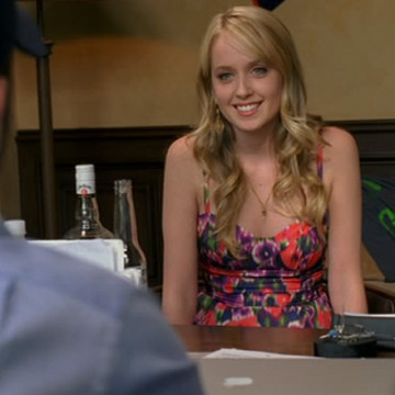 Car Service Interviewee (Megan Park) in Entourage