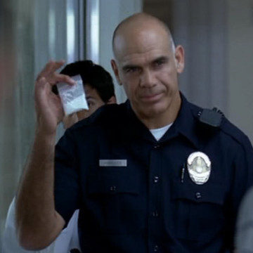 Cocaine Police Officer (Greg Collins) in Entourage