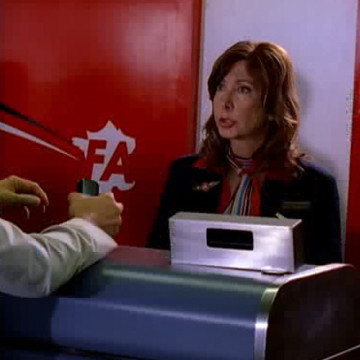 Disgruntled Airline Worker (Holly Wortell) in Entourage