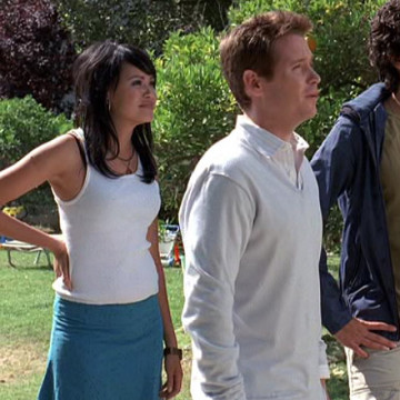 Dom's Girlfriend Sylvi (Martha Millan) in Entourage
