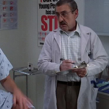 Eric's Doctor (Peter Siragusa) in Entourage