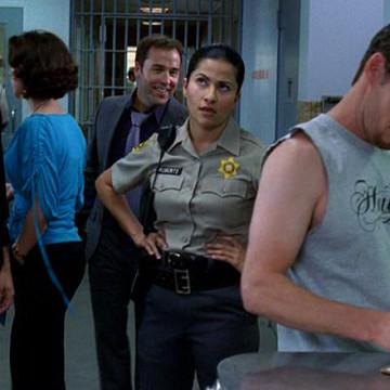 Female Officer Carla (Monika Jolly) in Entourage