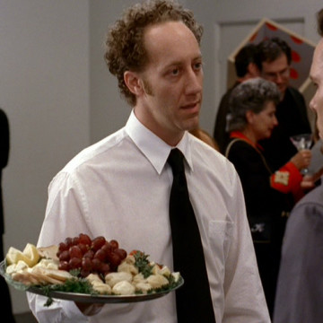 Gus the Waiter (Joey Slotnick) in Entourage