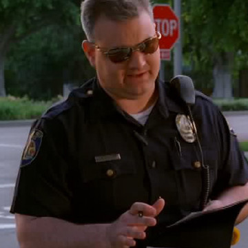 Lenient Cop (Michael Patrick McGill) in Entourage