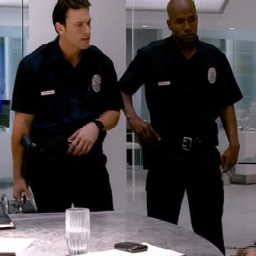 Officer Morgan (Andy Anderson) in Entourage