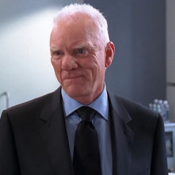 Terrance McQuewick (Malcolm McDowell) in Entourage